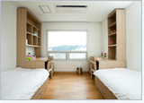 The 2-Bed Rooms (where Exchange Students are assigned)