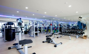 The CAU Fitness Room