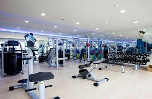 The CAU Fitness Room