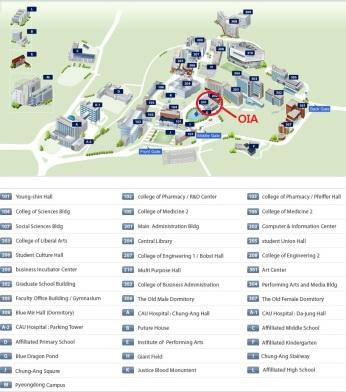 Seoul Campus Map