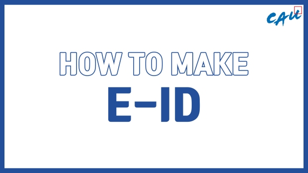 HOW TO MAKE E-ID